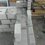 Армирование кладки базальтовой сеткой
