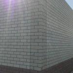 Облицовочная кладка задней стены