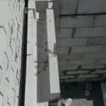 Кладка П-образных блоков
