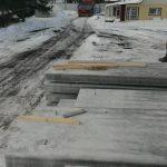 Комплектация объекта материалами до закрытия дорог