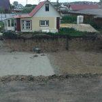 Устройство песчаного основания